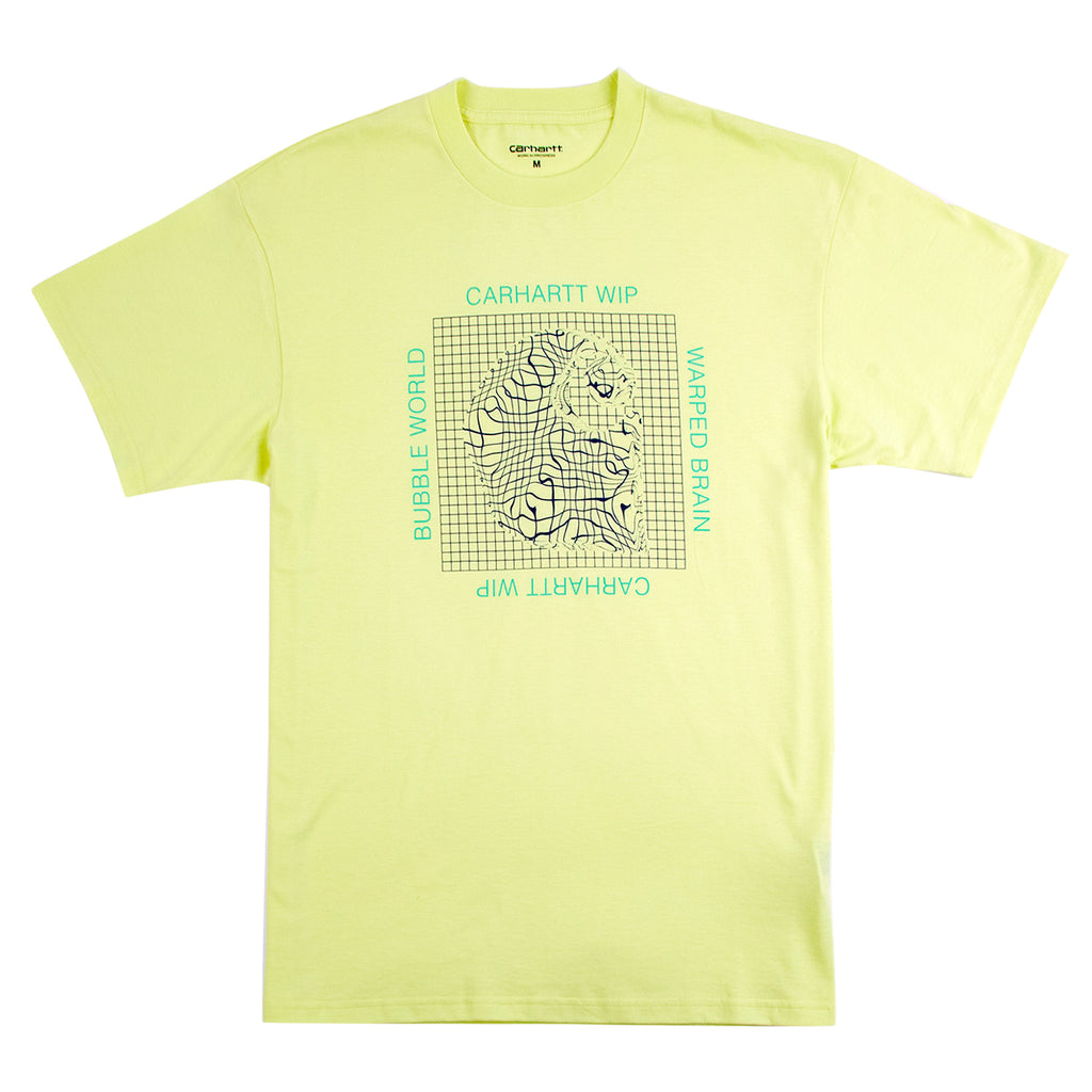Carhartt Grid C T Shirt in Honeydew