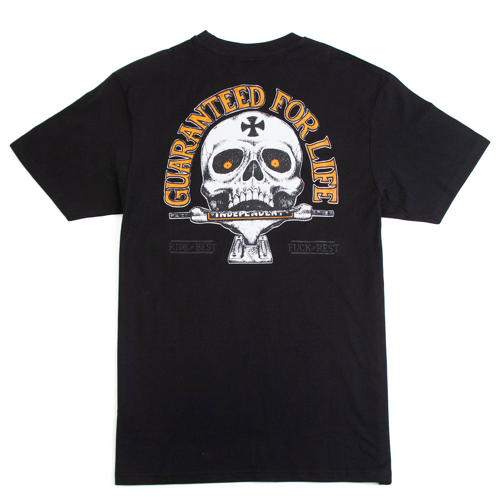 Independent Trucks Guaranteed T Shirt in Black