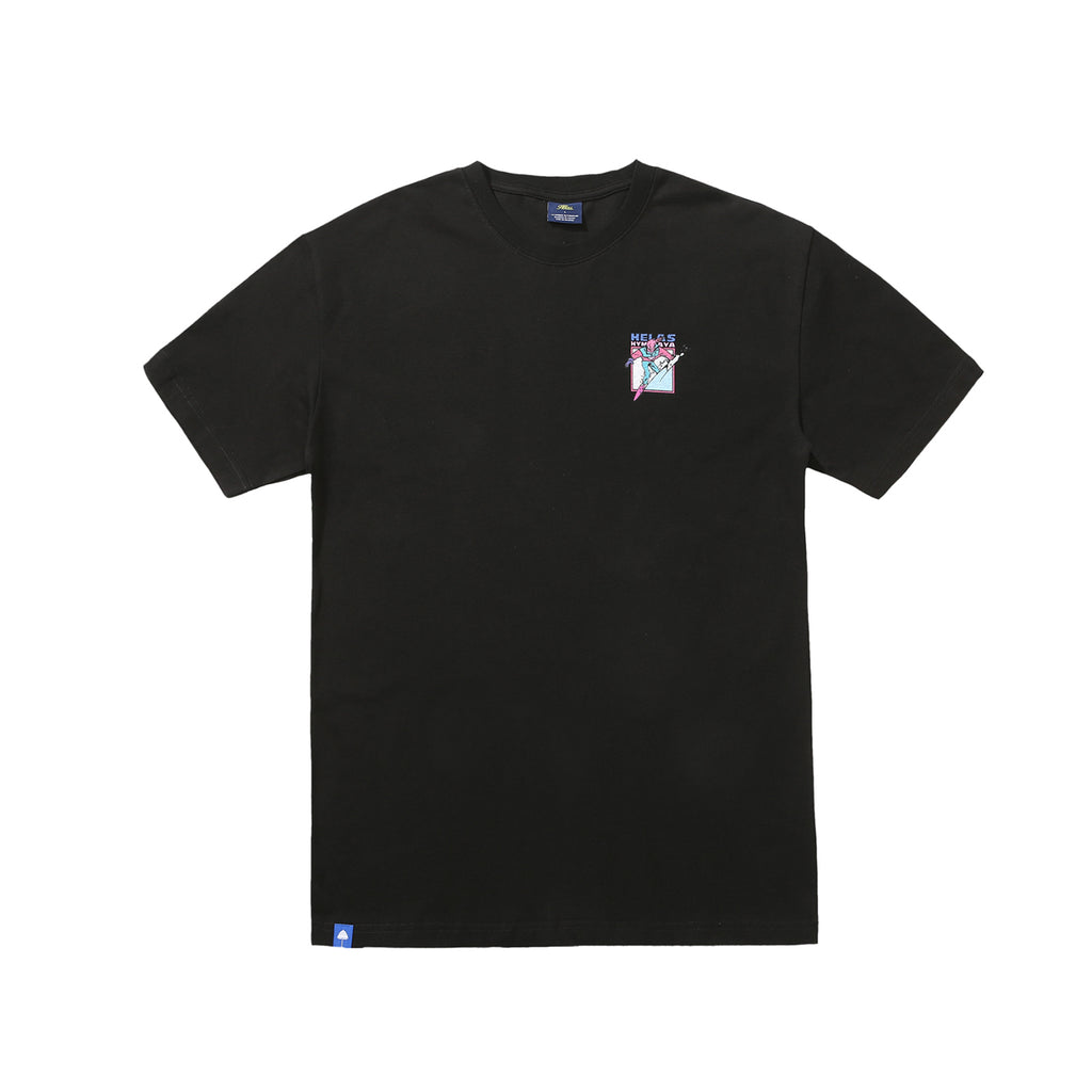 Helas Himalaya T Shirt in Black - Front