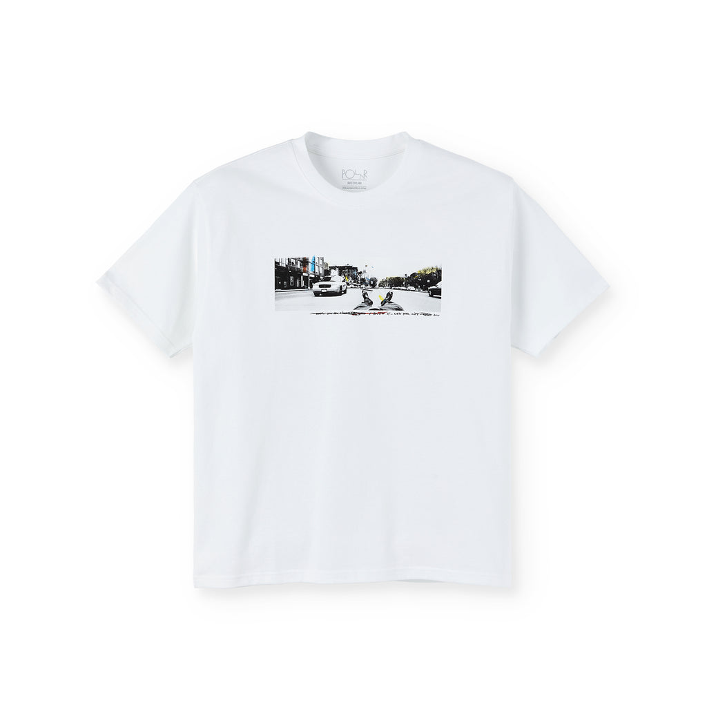 Polar Skate Co Houston Street T Shirt in Black