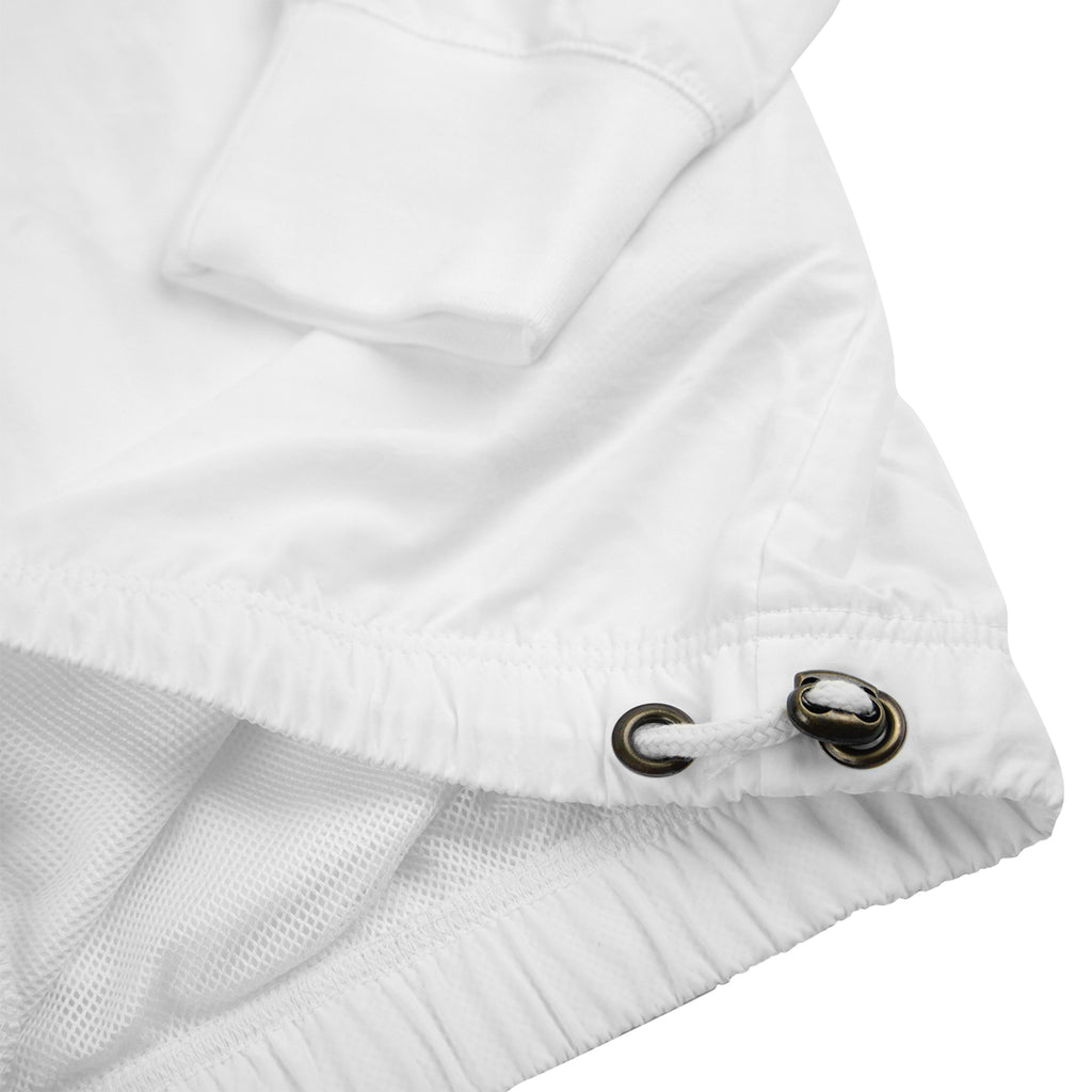 Champion Reverse Weave Half Zip Track Top in White - Waist