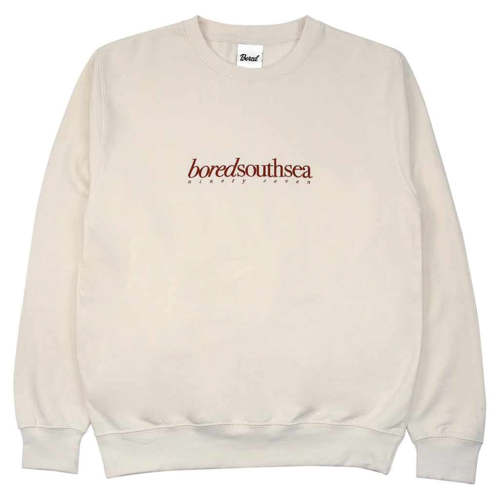 Bored of Southsea Hammer Sweatshirt in Bone / Toffee