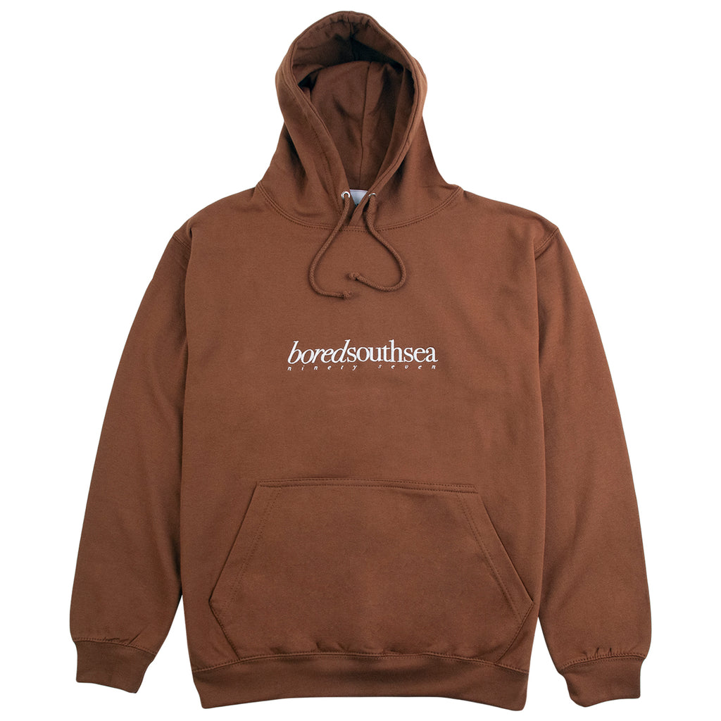 Bored of Southsea Hammer Hoodie in Toffee / Bone