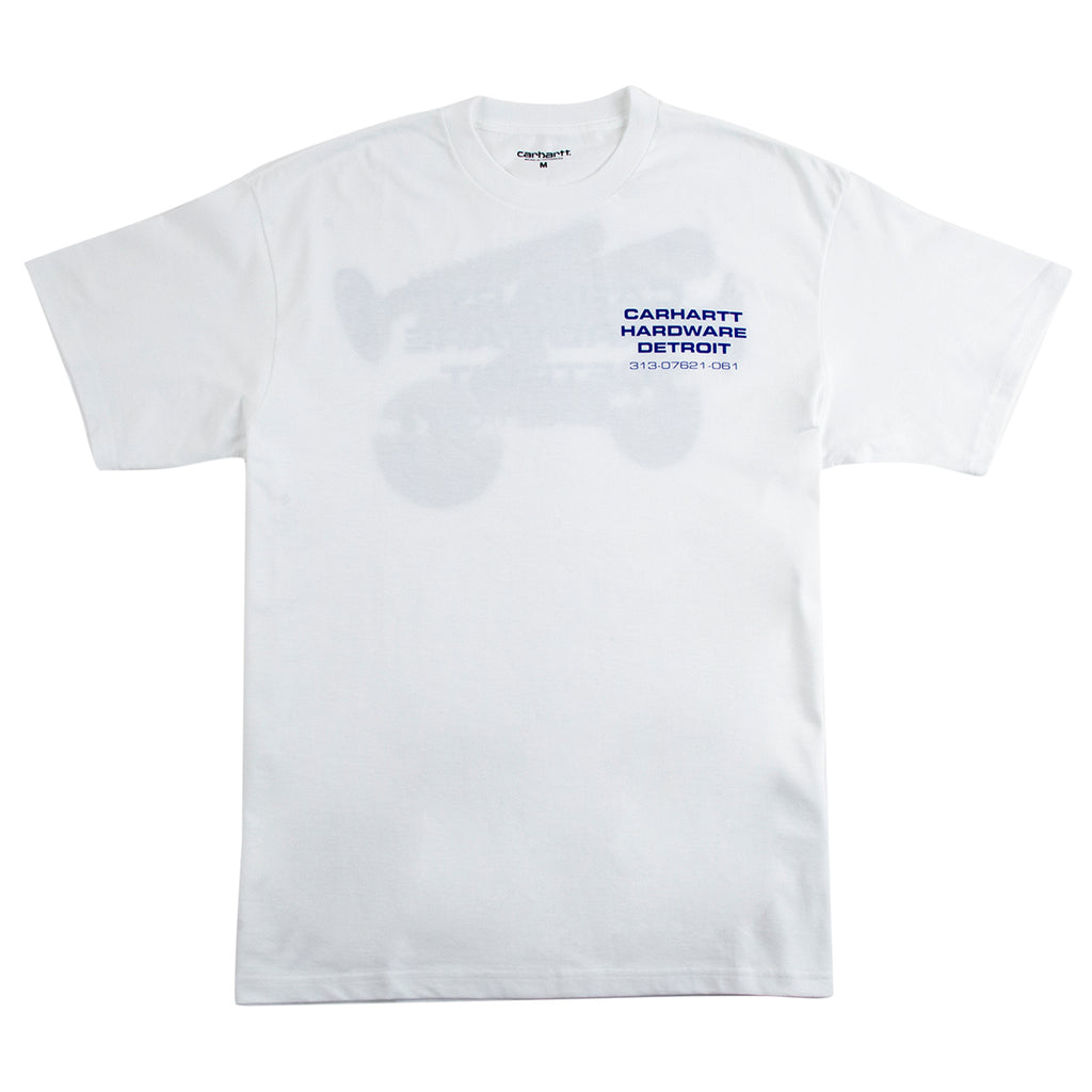 Carhartt WIP Screws T Shirt in White - Front