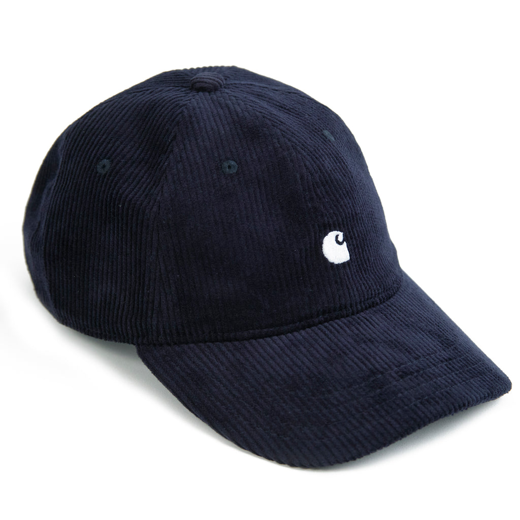Carhartt WIP Harlem Cap in Dark Navy / White