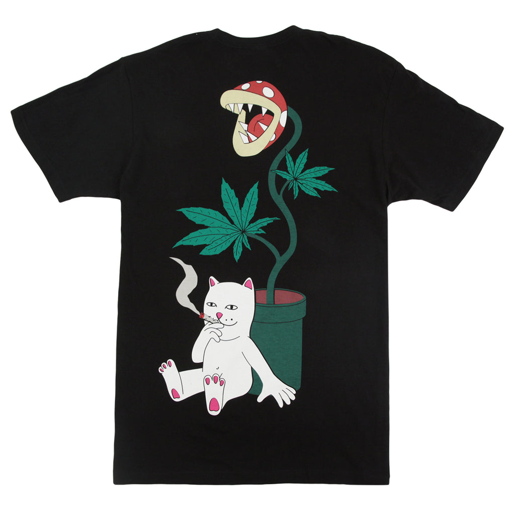 RIPNDIP Herb Eater T Shirt in Black - Back