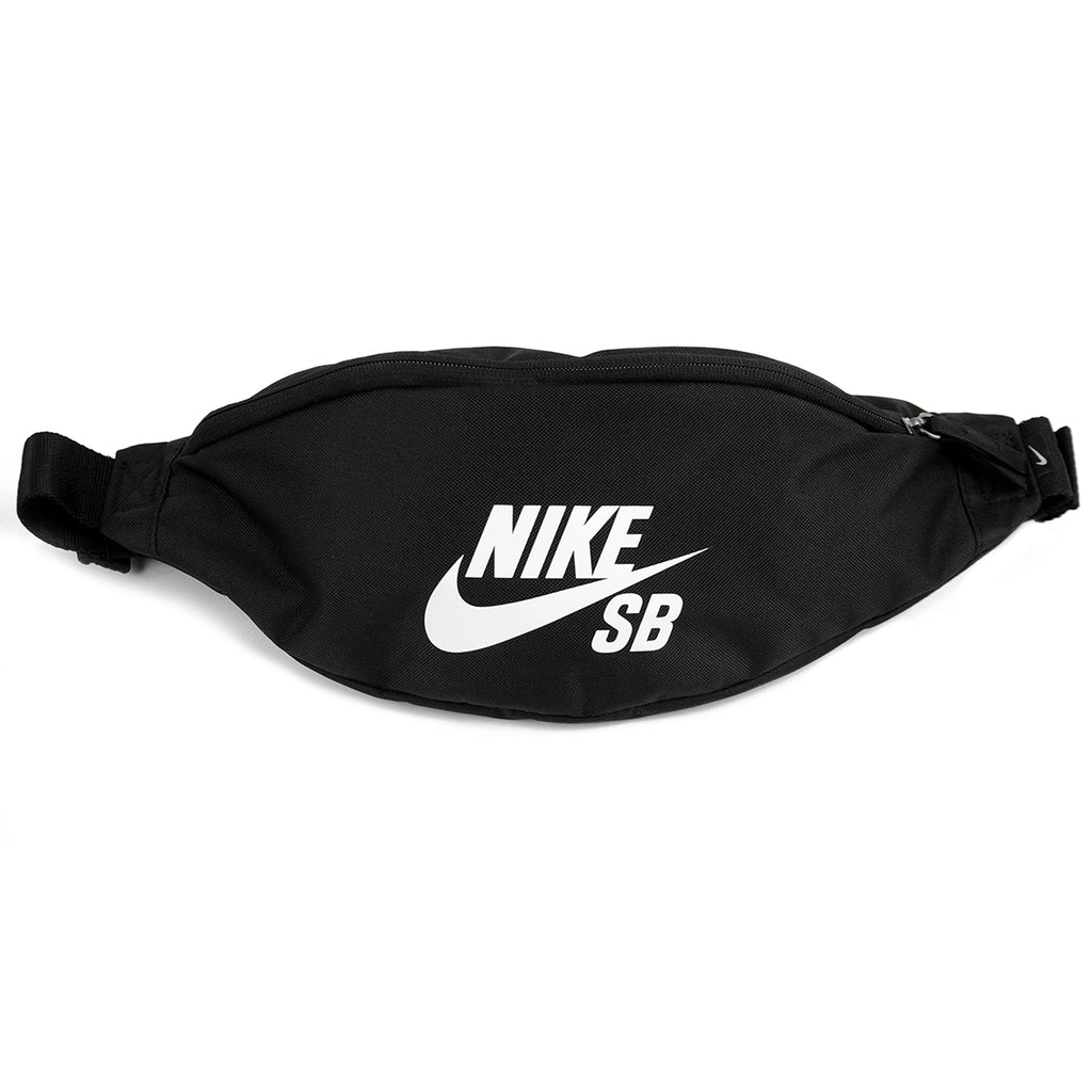Nike SB Hip Pack in Black / Black / White
