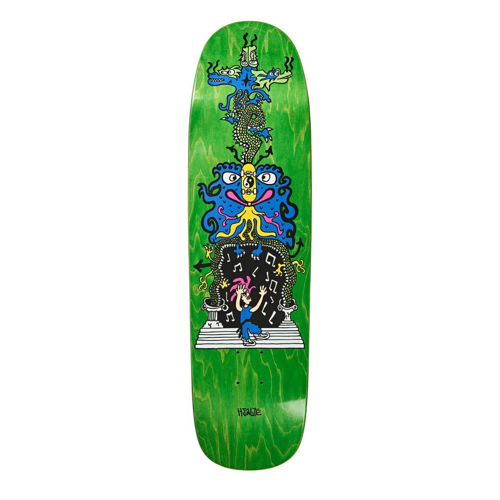 Polar Skate Co Hjalte Halberg Dragon Gate P9 Shape Skateboard Deck in 8.625""