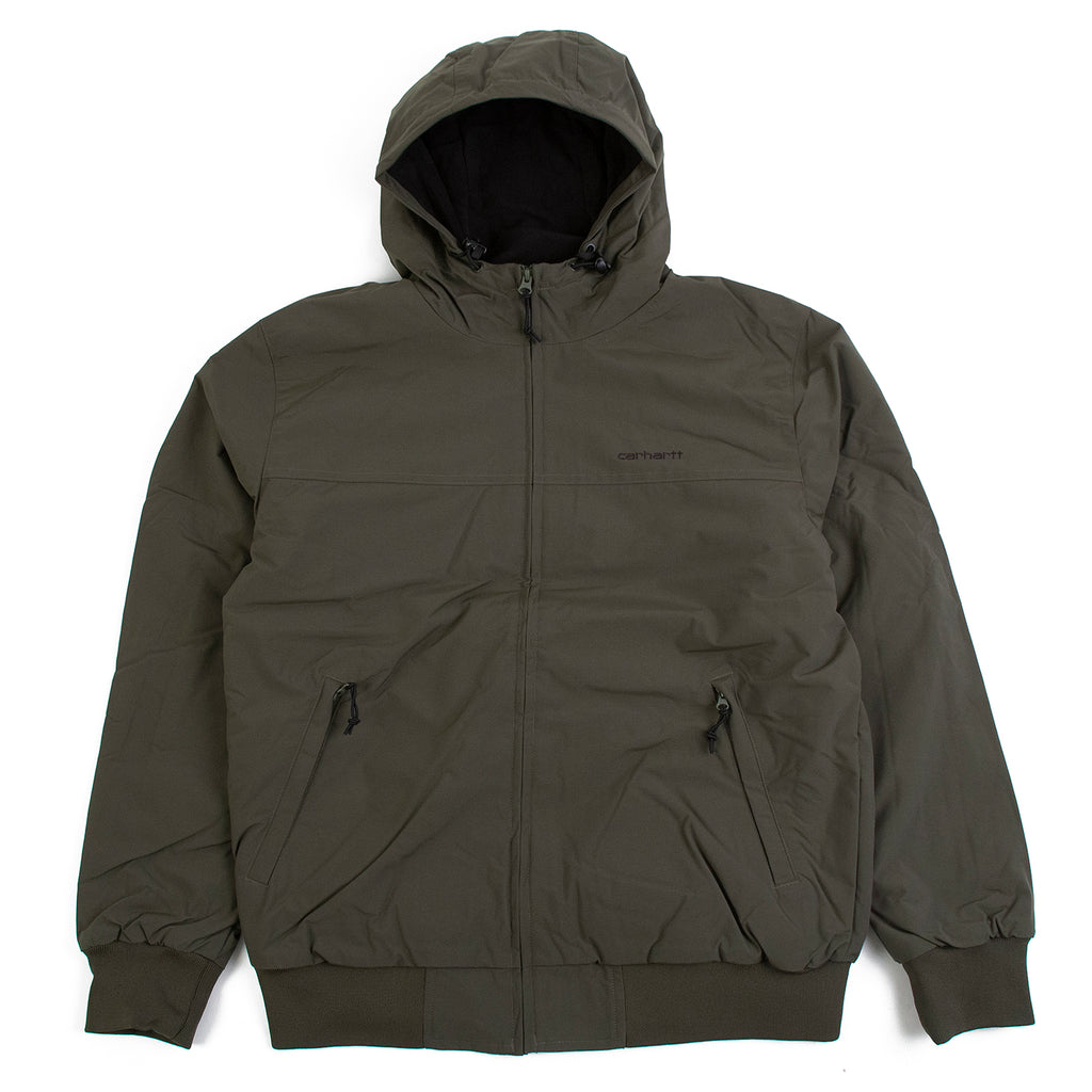 Carhartt WIP Hooded Sail Jacket in Cypress / Black