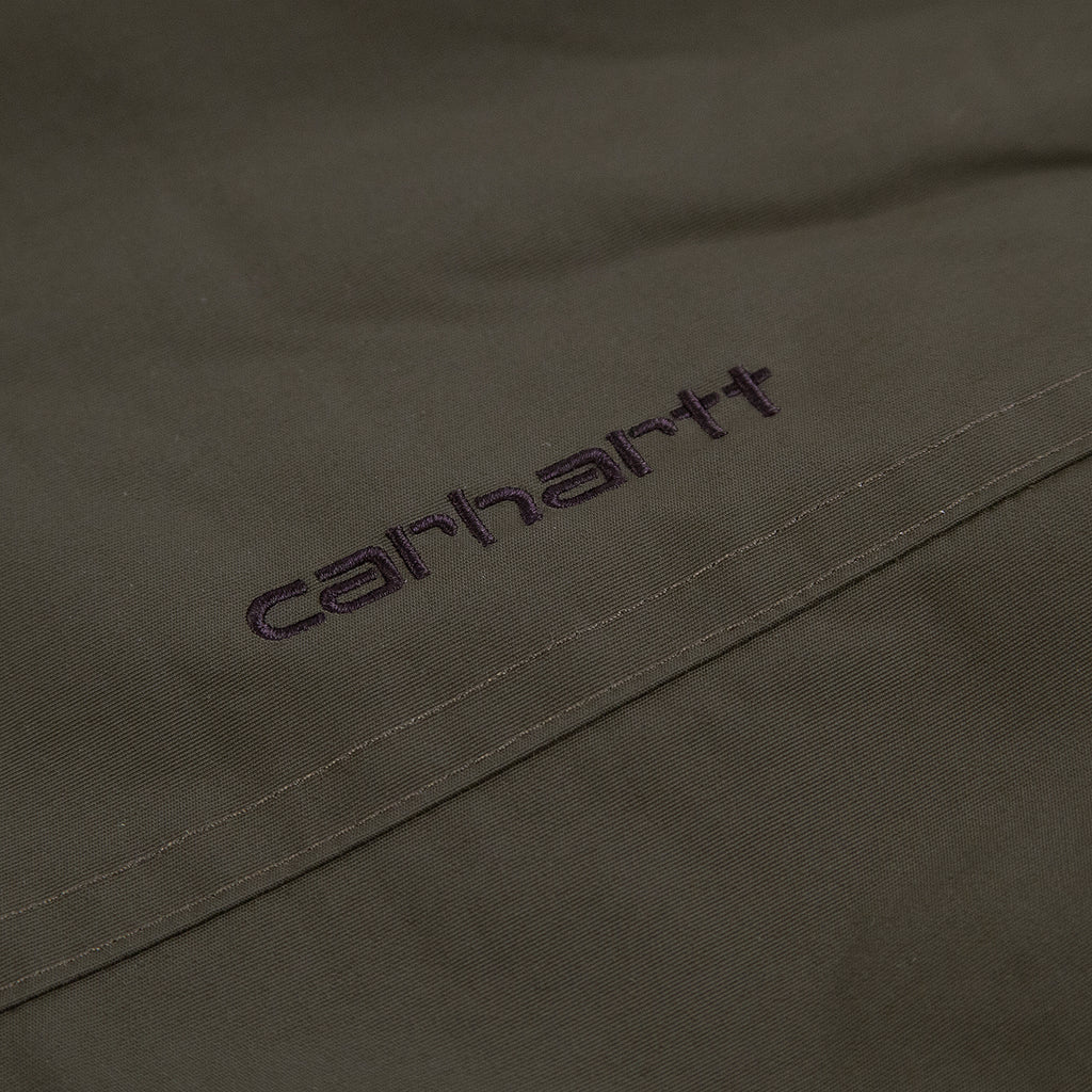 Carhartt WIP Hooded Sail Jacket in Cypress / Black - Embroidery