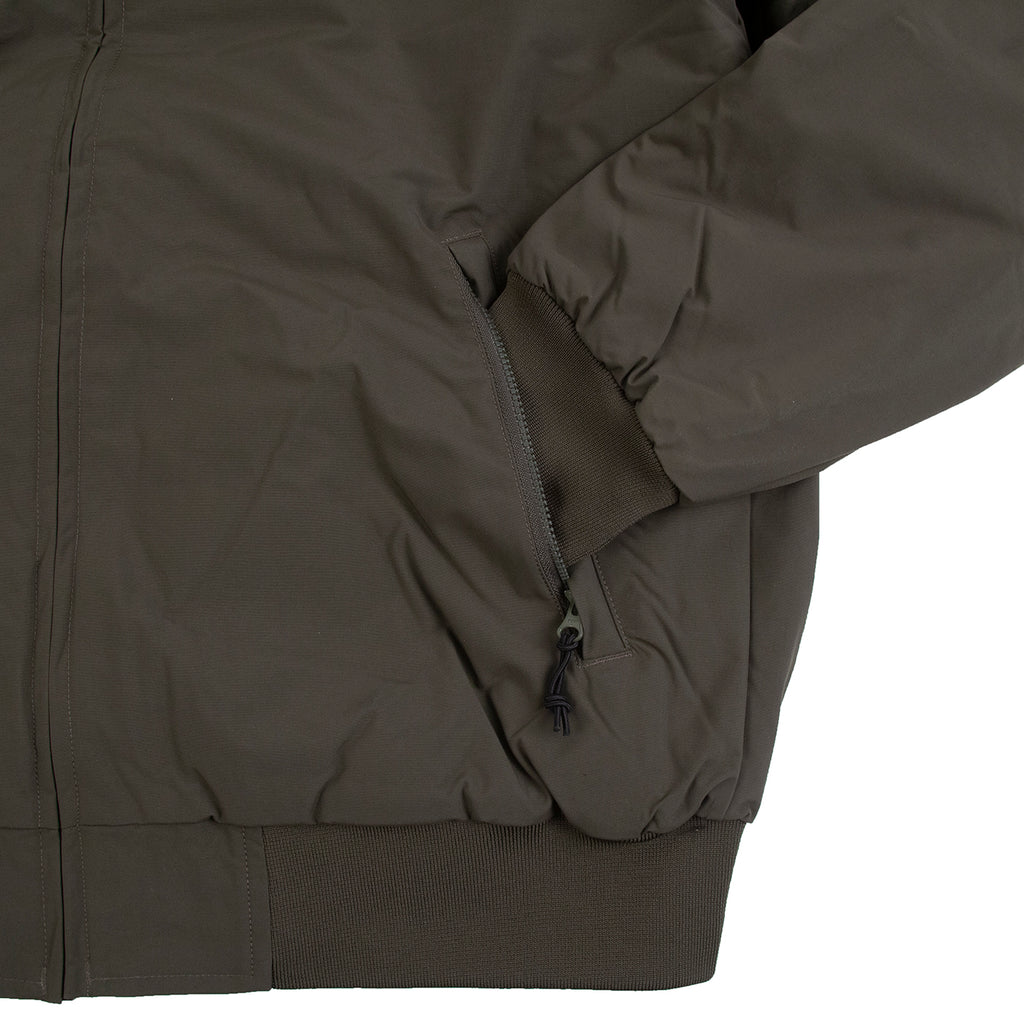 Carhartt WIP Hooded Sail Jacket in Cypress / Black - Cuff