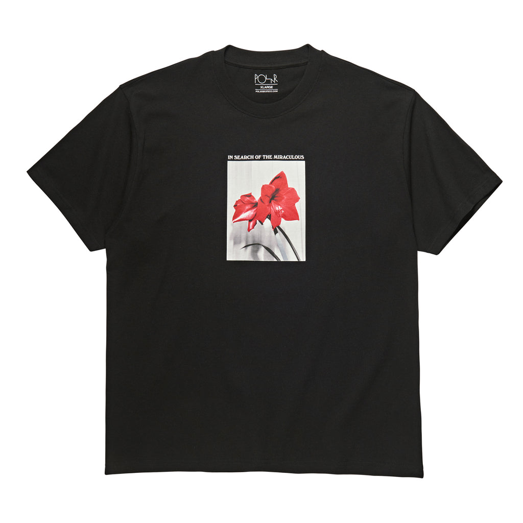 Polar Skate Co In Search of the Miraculous T Shirt in Black