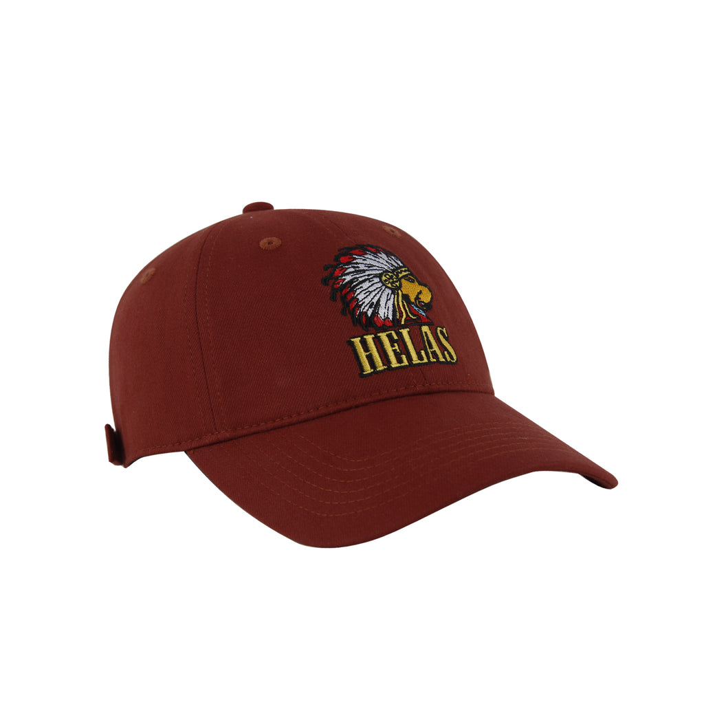 Helas Indian Dog Cap in Burgundy - Front