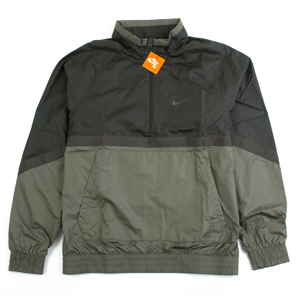 Nike SB Orange Label Ishod Wair Jacket in Medium Olive / Sequoia