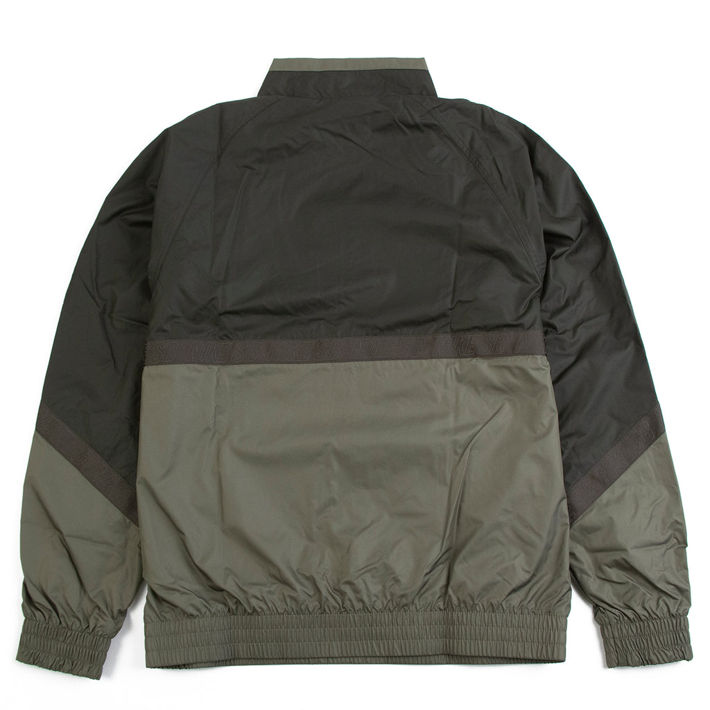 Nike SB Orange Label Ishod Wair Jacket in Medium Olive / Sequoia - Back