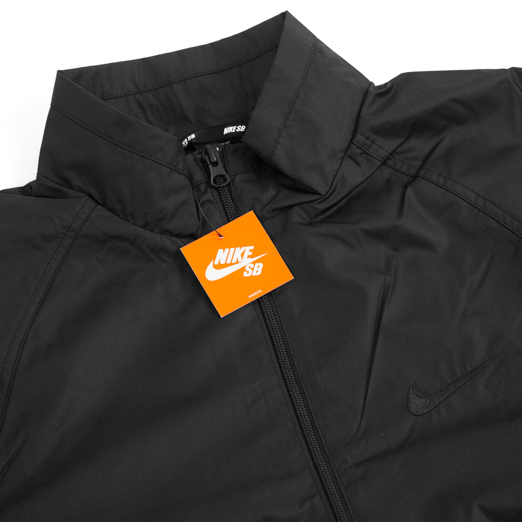 Nike SB Orange Label Ishod Wair Jacket in Black / Black / Black - Detail