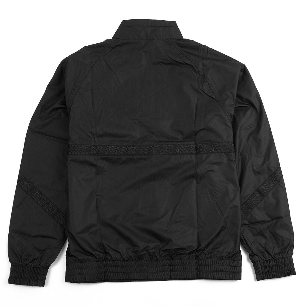 Nike SB Orange Label Ishod Wair Jacket in Black / Black / Black - Back