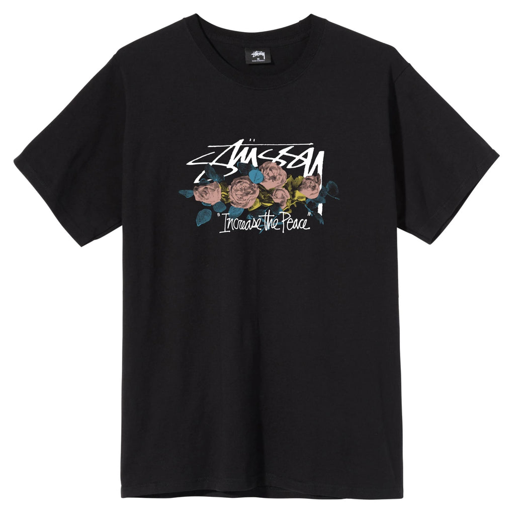 Stussy ITP Roses T Shirt in Black