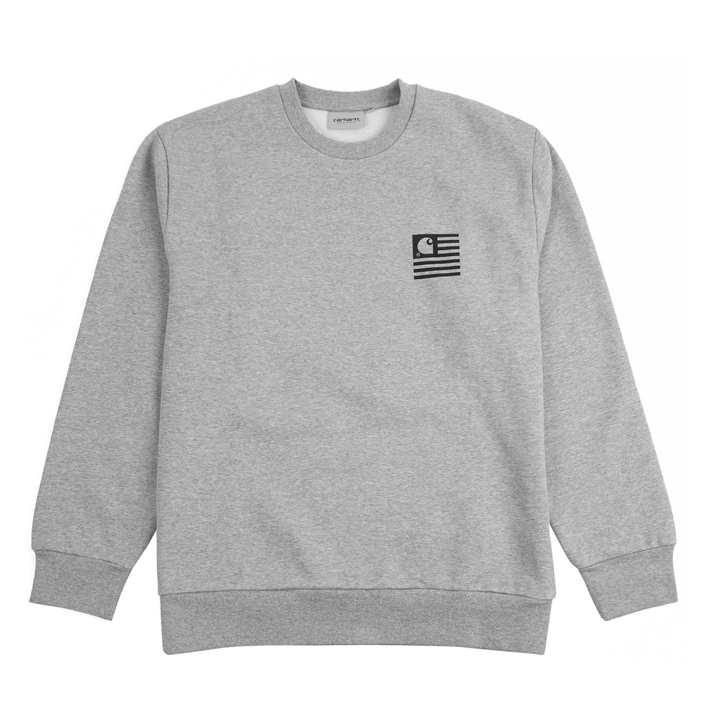 Carhartt WIP Incognito Sweatshirt in Grey Heather - Front