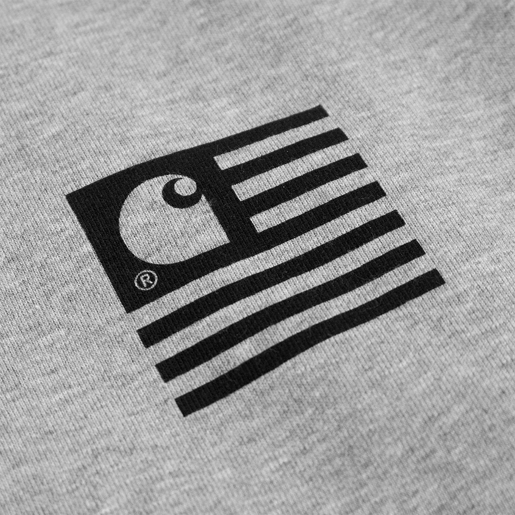 Carhartt WIP Incognito Sweatshirt in Grey Heather - Print