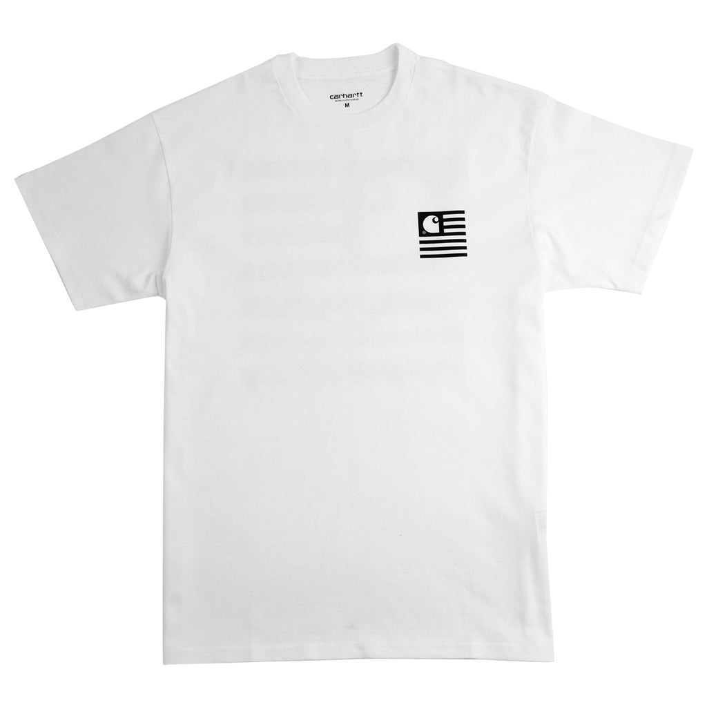 Carhartt WIP Incognito T Shirt in White - Front