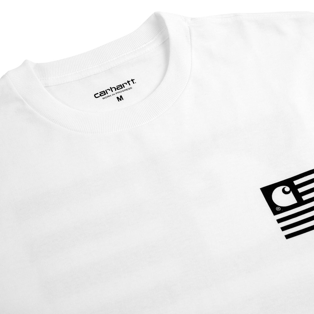 Carhartt WIP Incognito T Shirt in White - Detail