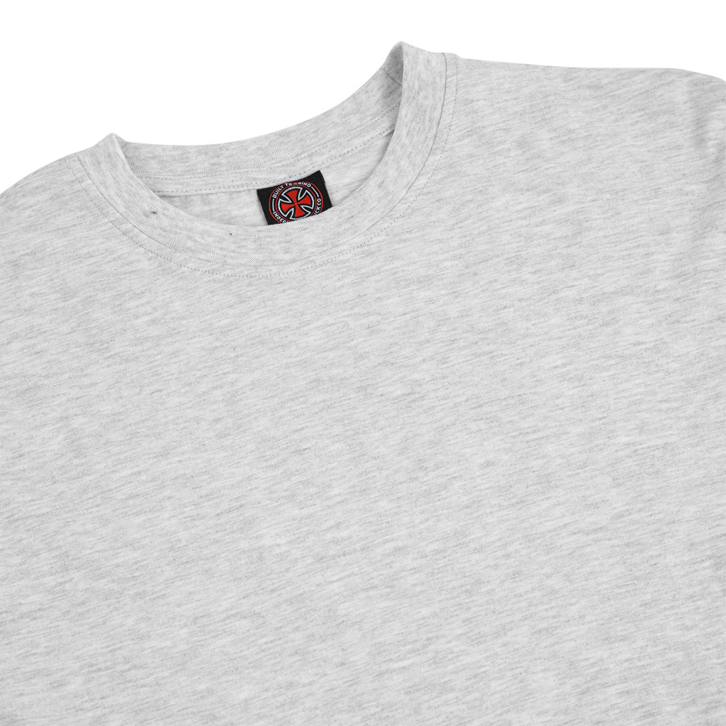 Independent Trucks Ante L/S T Shirt in Athletic Heather - Detail