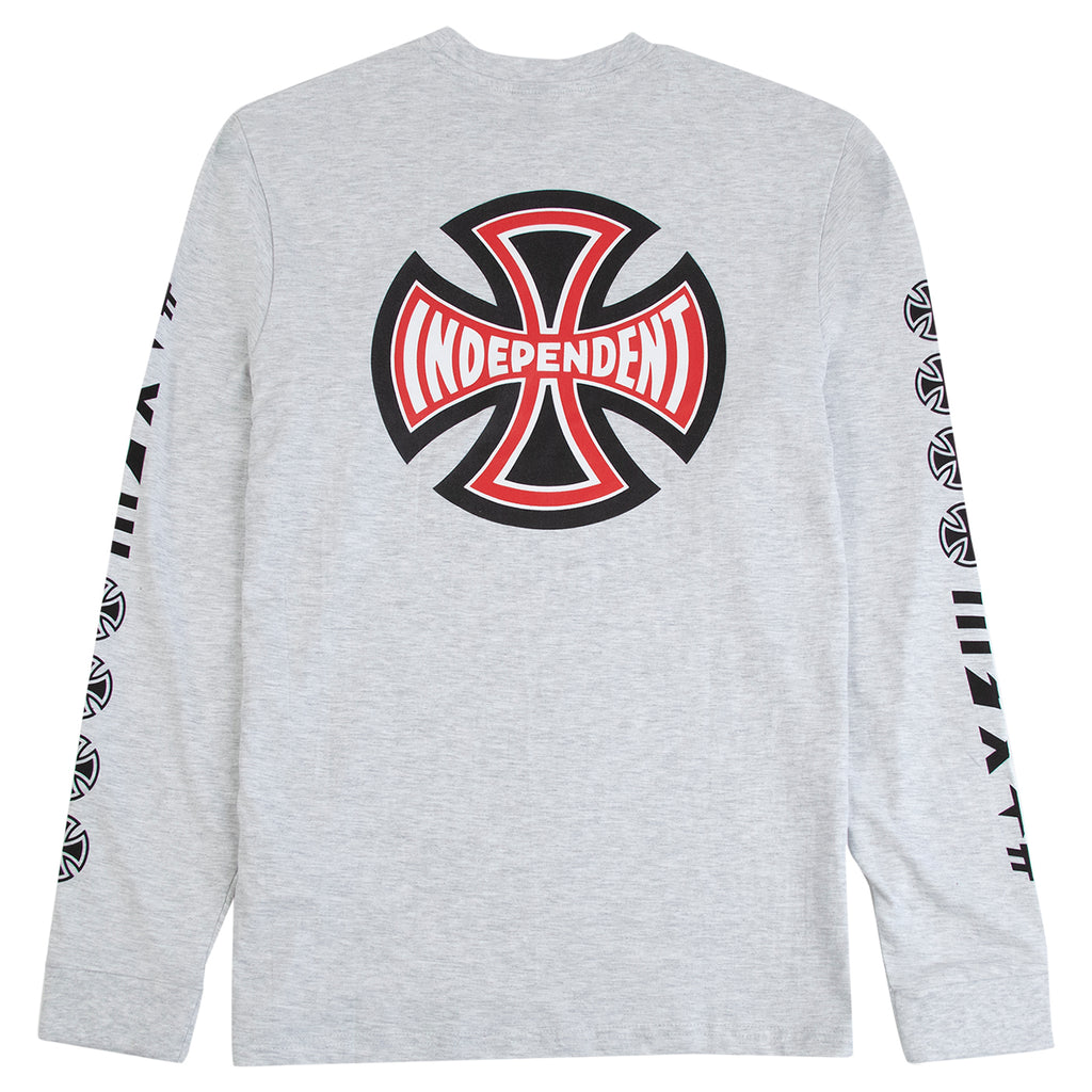 Independent Trucks Ante L/S T Shirt in Athletic Heather