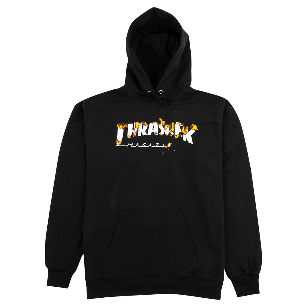Thrasher Intro Burner Hoodie in Black