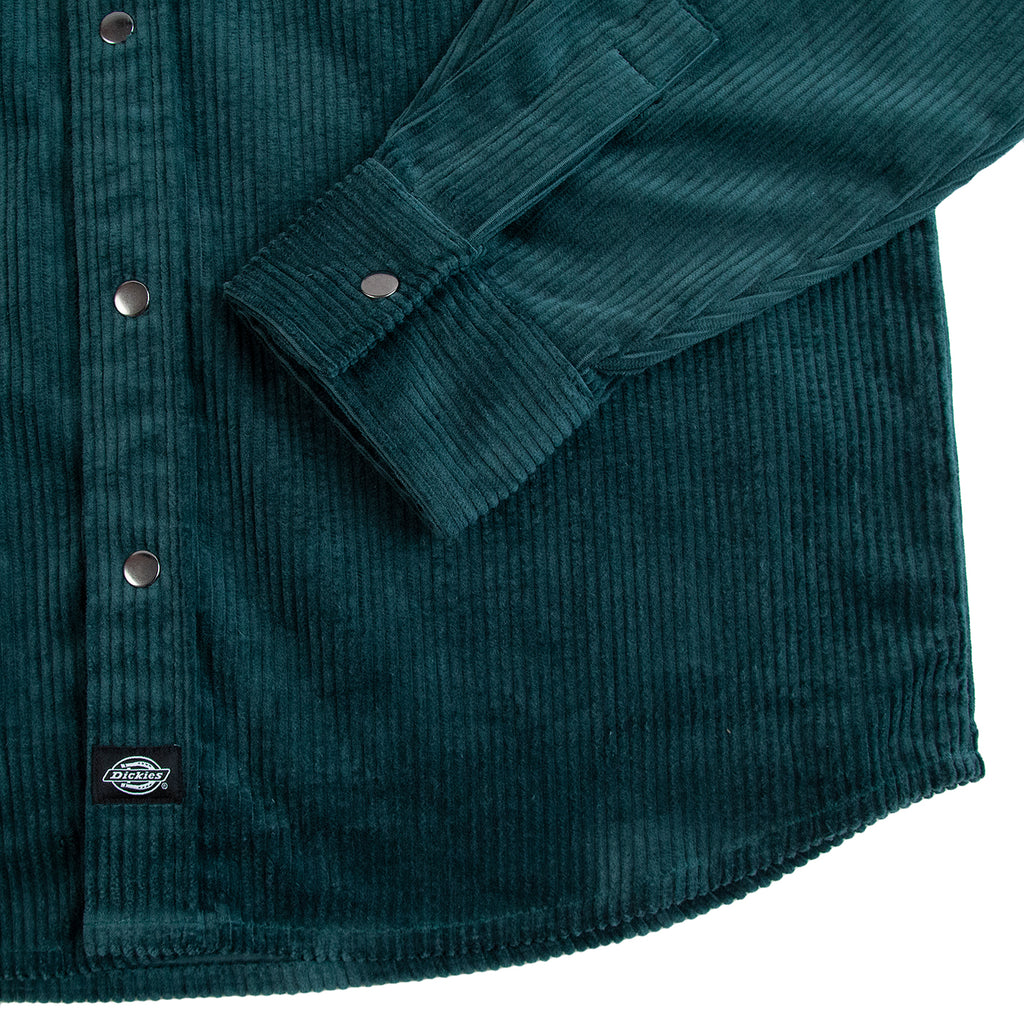 Dickies Ivel Shirt in Forest - Cuff