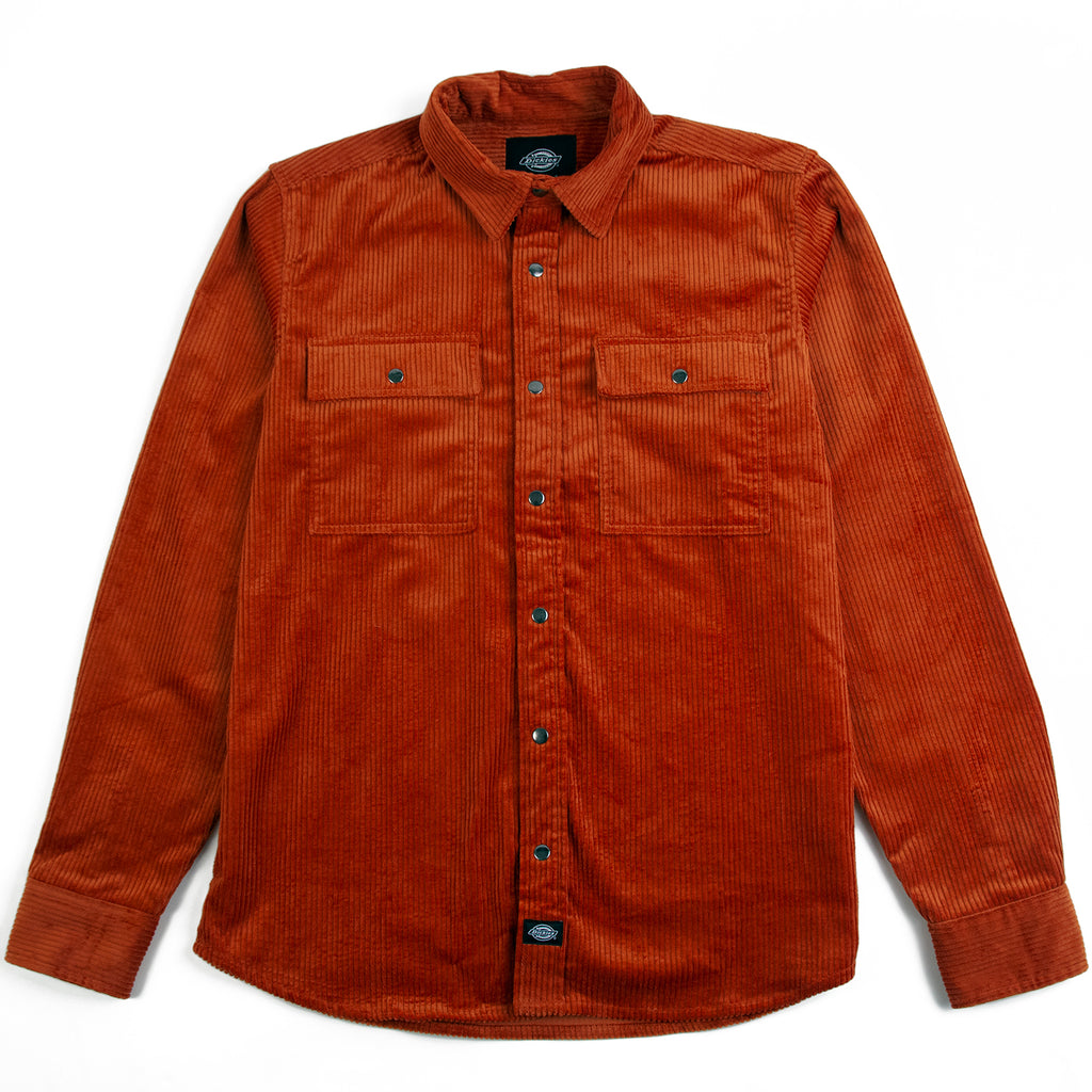 Dickies Ivel Shirt in Rust
