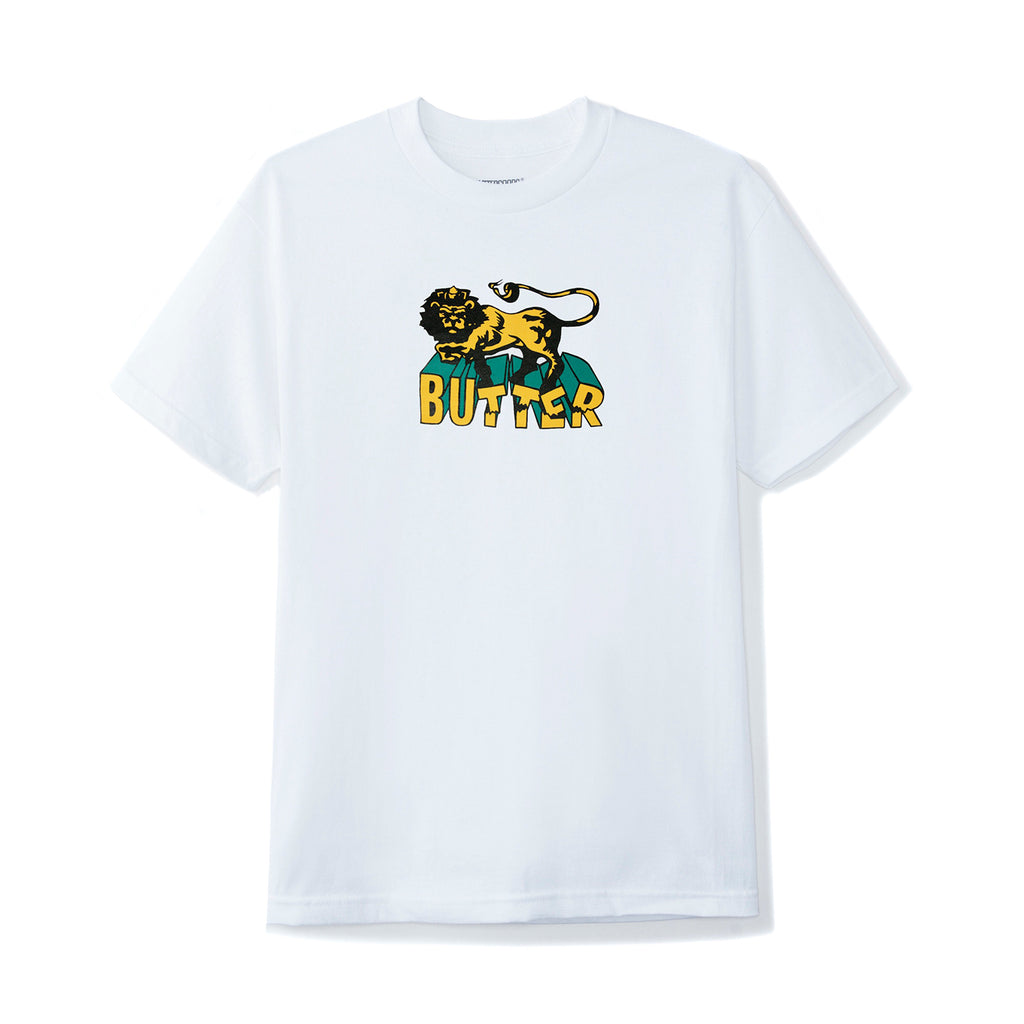 Butter Goods Jah T Shirt in White