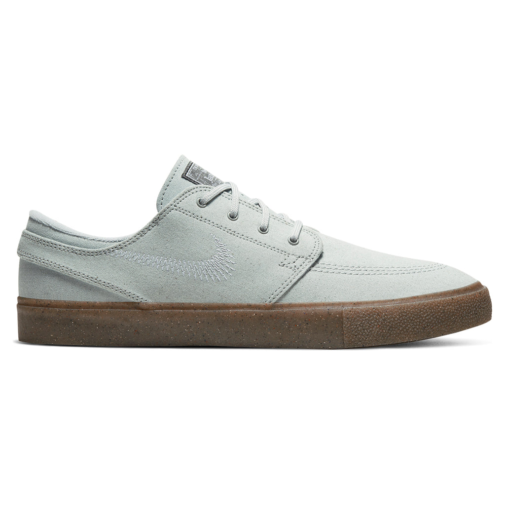 Nike SB Zoom Janoski Flyleather RM Shoes in Pure Platinum / Pure Platinum