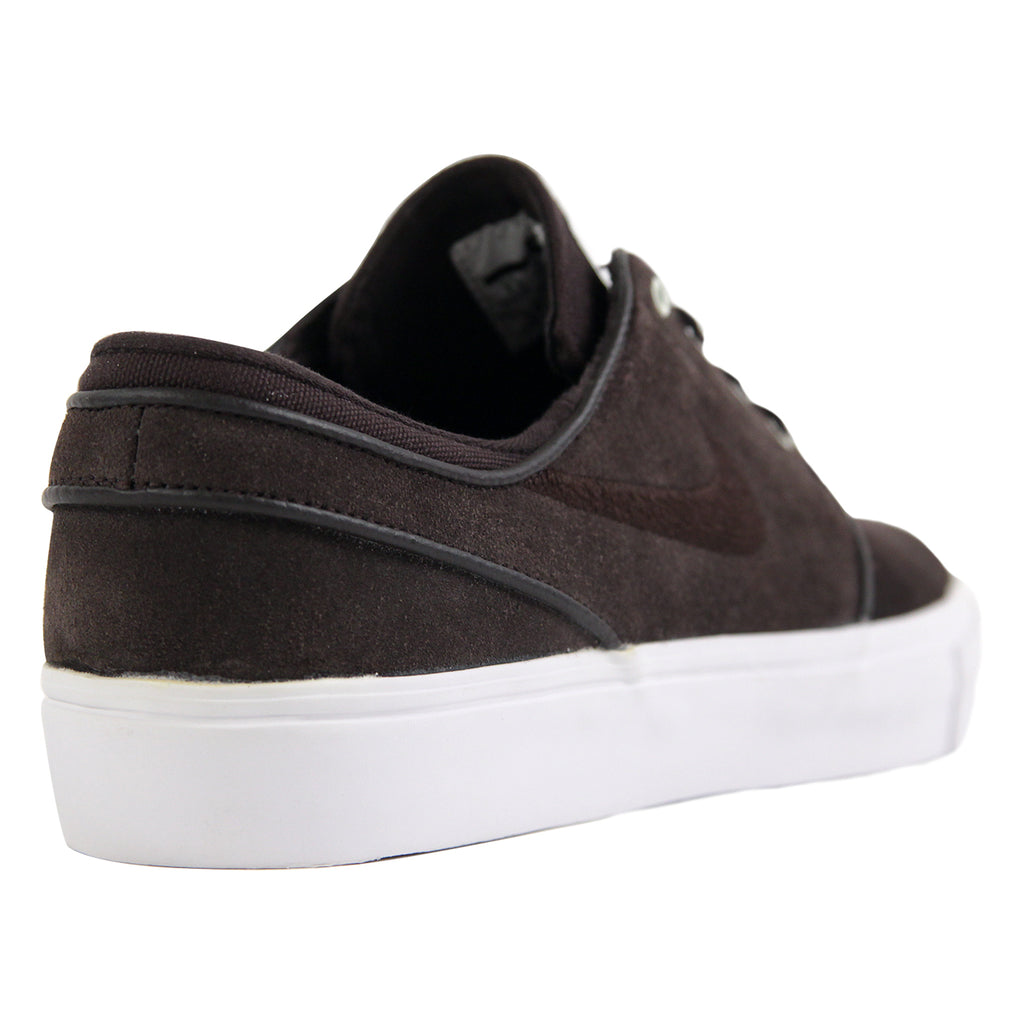 Nike SB Zoom Stefan Janoski Shoes in Velvet Brown / Velvet Brown - Heel