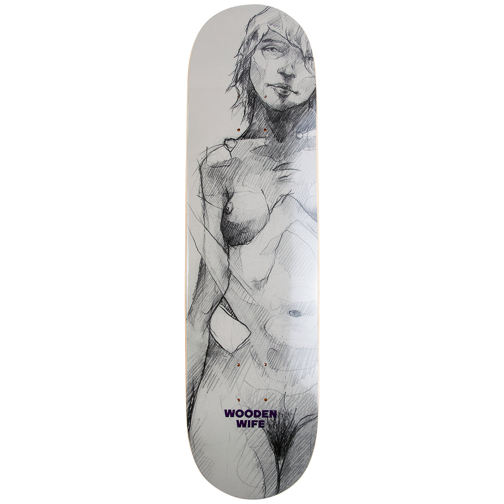 Wooden Wife Skateboards Female Form Skateboard Deck