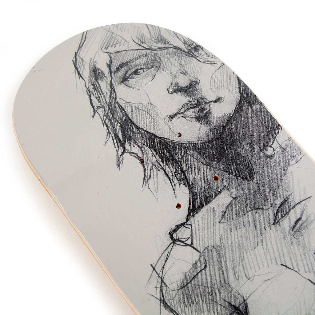 Wooden Wife Skateboards Female Form Skateboard Deck - Nose