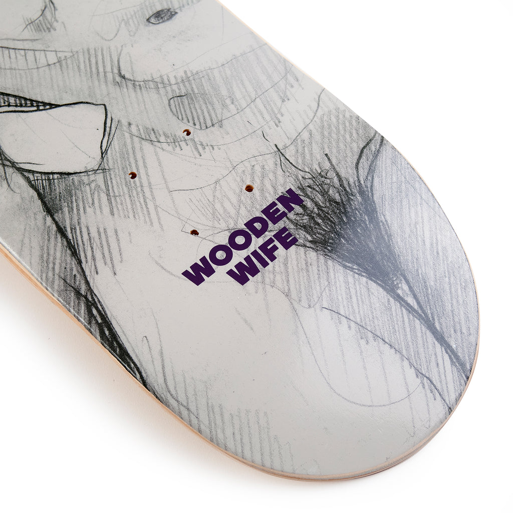 Wooden Wife Skateboards Female Form Skateboard Deck - Tail