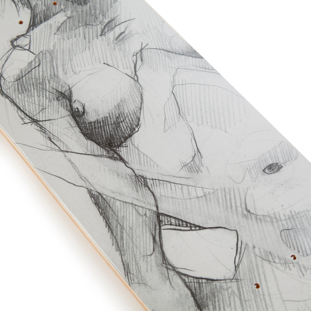 Wooden Wife Skateboards Female Form Skateboard Deck - Print