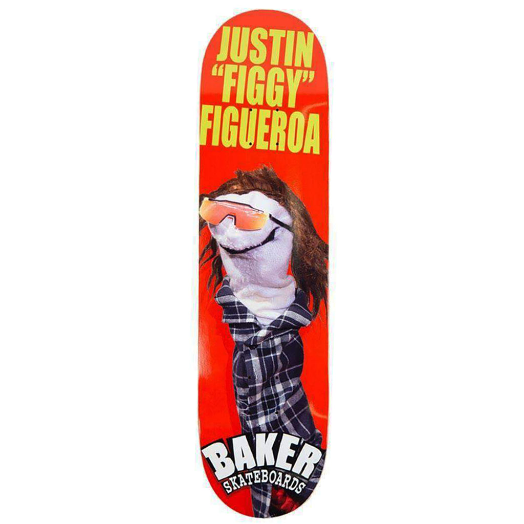 Baker Skateboards Figgy Sock Puppet Skateboard Deck in 8""