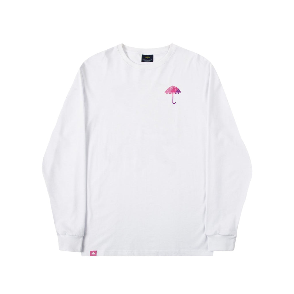 Helas King L/S T Shirt in White - Front