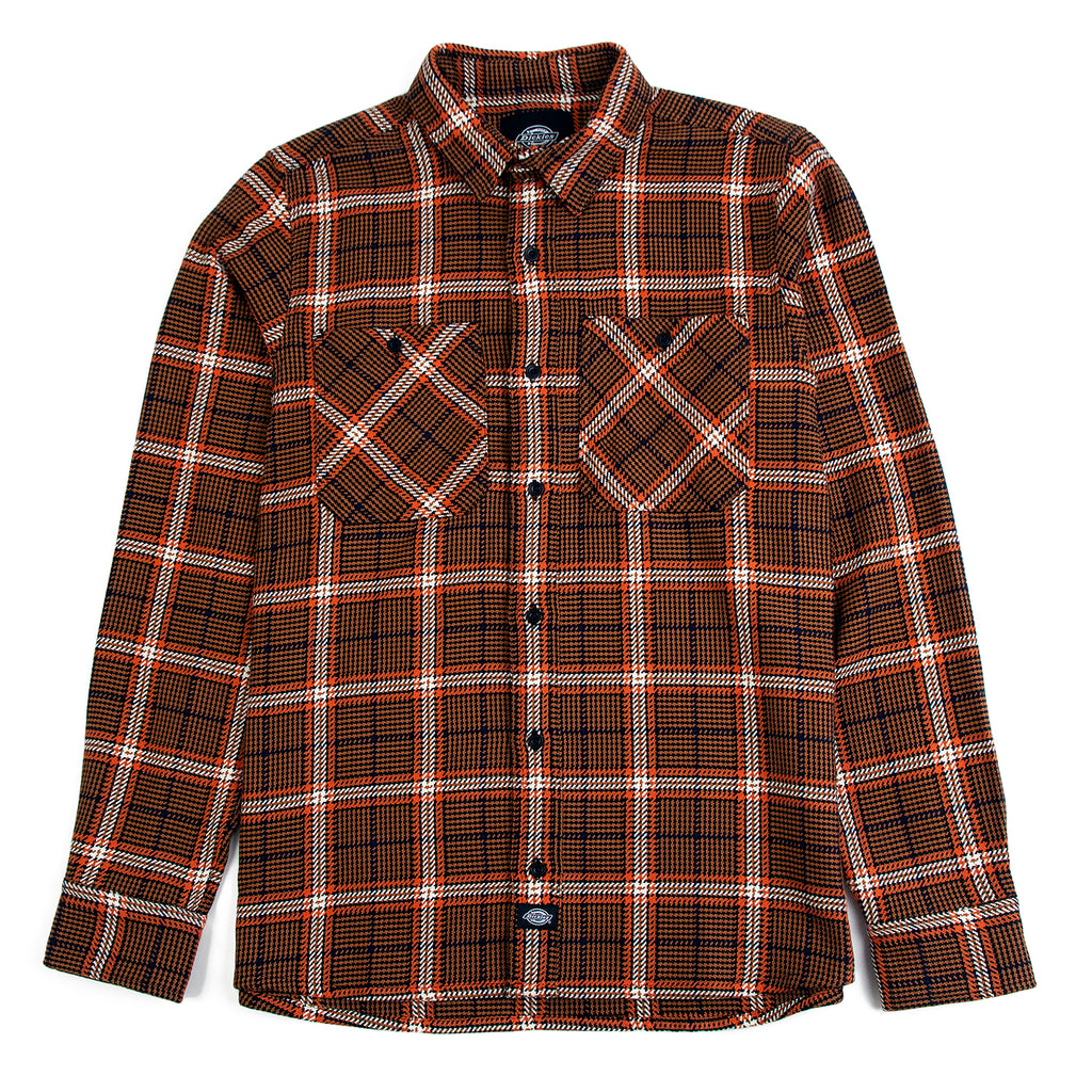 Dickies Kuttawa Shirt in Brown Duck