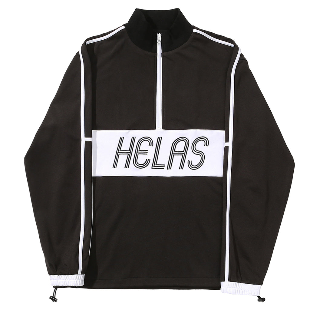 Helas Liga Quarter Zip in Black