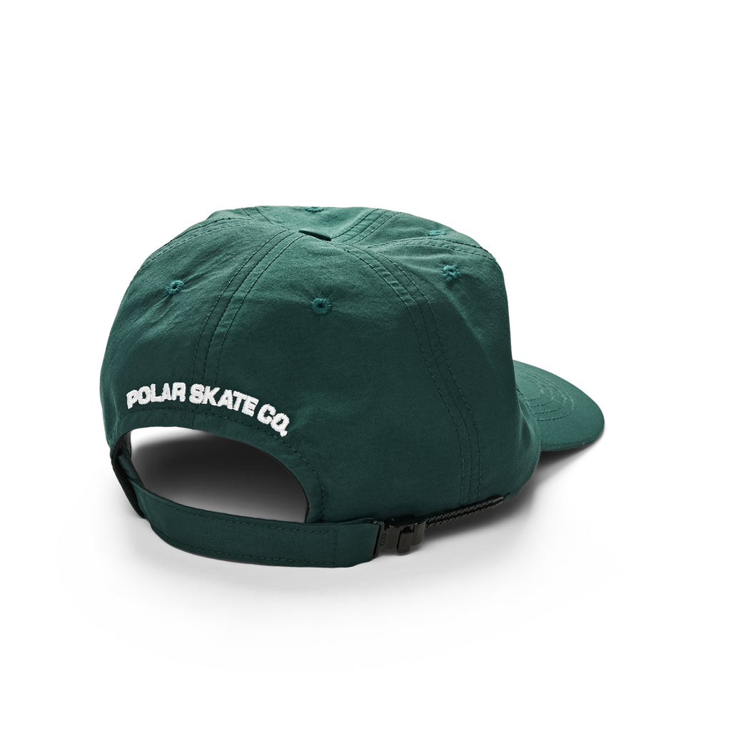 Polar Skate Co Lightweight Cap in Dark Green - Back