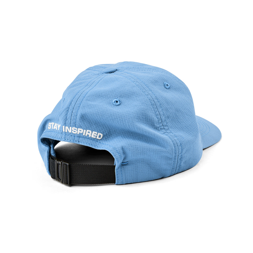 Polar Skate Co Lightweight Cap in Periwinkle - Back