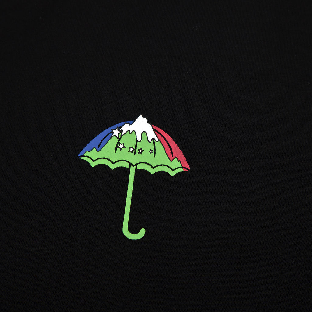 Helas LSDOG L/S T Shirt in Black - Umbrella