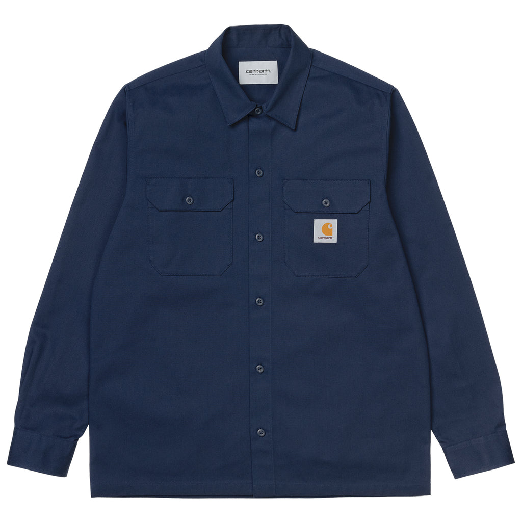 Carhartt WIP L/S Master Shirt in Space