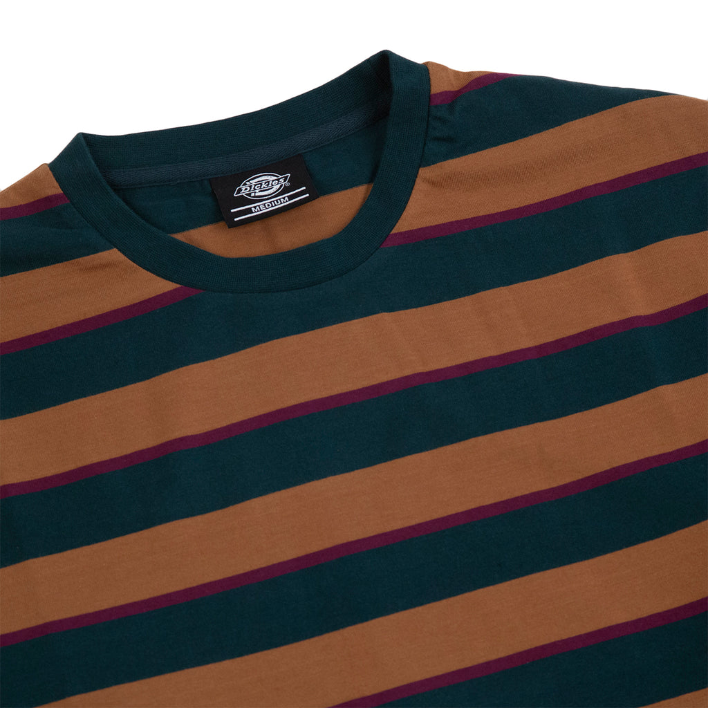 Dickies L/S Latonia T Shirt in Forest - Detail