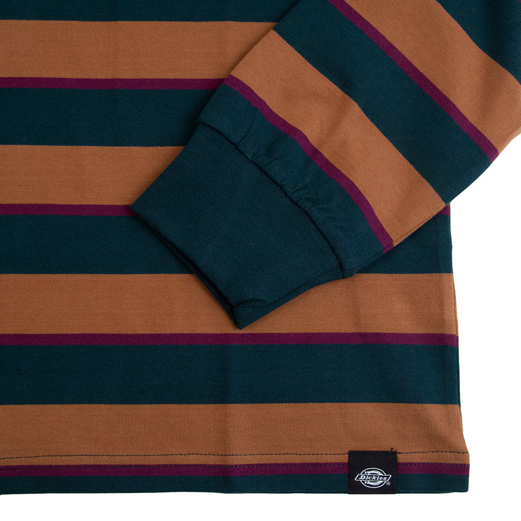 Dickies L/S Latonia T Shirt in Forest - Sleeve