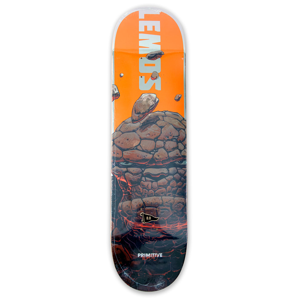 "Primitive Lemos The Thing Skateboard Deck 8"" - Bottom"