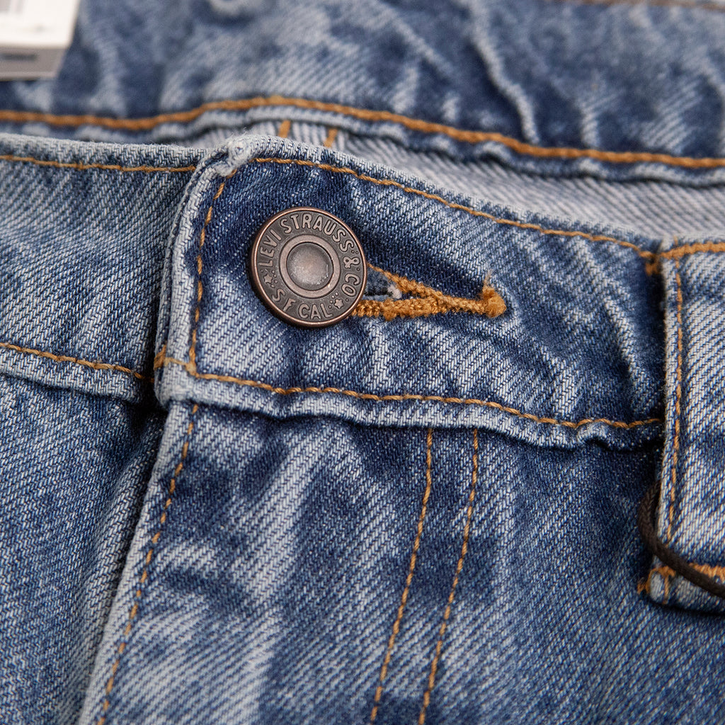 Levis Skateboarding Skate Baggy Jeans in Jackson - Button